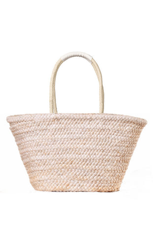 Multi-colored Pom Pom Big Straw Tote Beach Bag