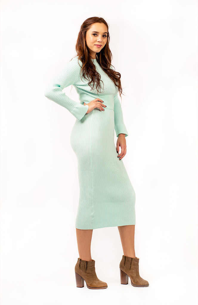 Riesa Ribbed Two Piece Set