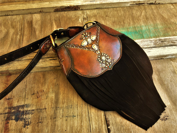 BOHEMIAN QUEEN LEATHER BAG *ORDER*