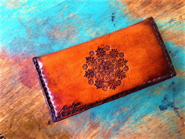 Basic Boho Leather Purse- Medium *ORDER*