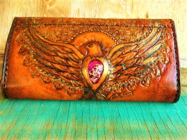 Purple Love & Light Purse 'ORDER'