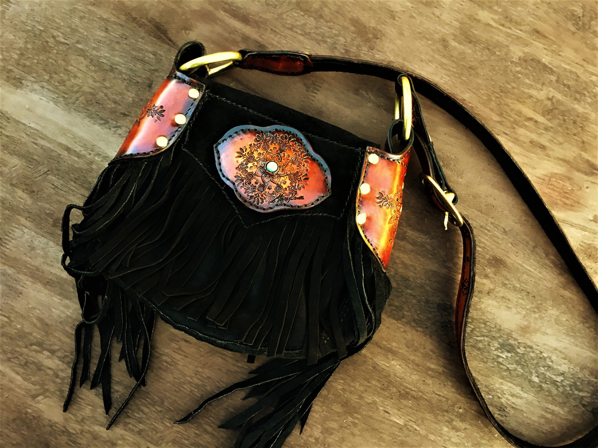 GYPSY QUEEN LEATHER BAG *ORDER*