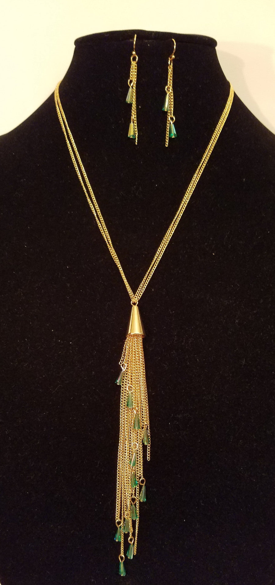 Long Tassle Necklace - Bedazzled By Jeanelle