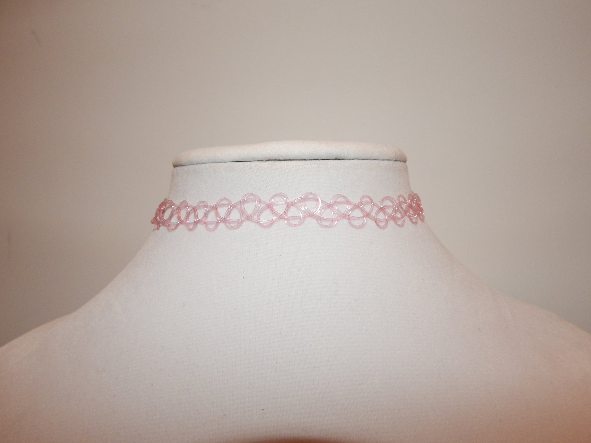 Light Pink Tattoo Choker