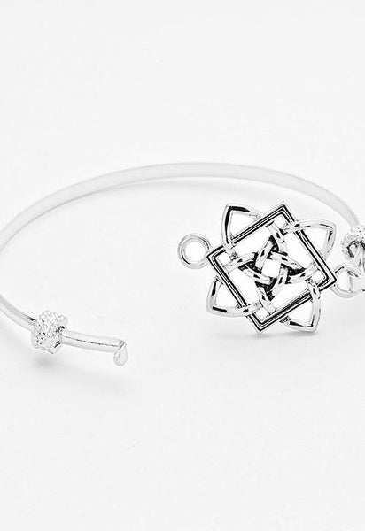 Celtic Knot Bangle Bracelet - Bedazzled By Jeanelle - 2