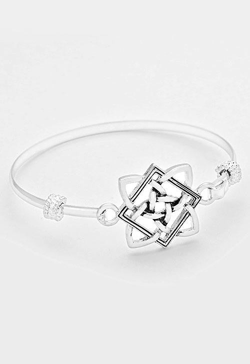 Celtic Knot Bangle Bracelet - Bedazzled By Jeanelle - 1