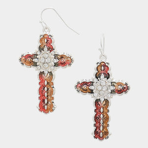 Unique Cross Earrings
