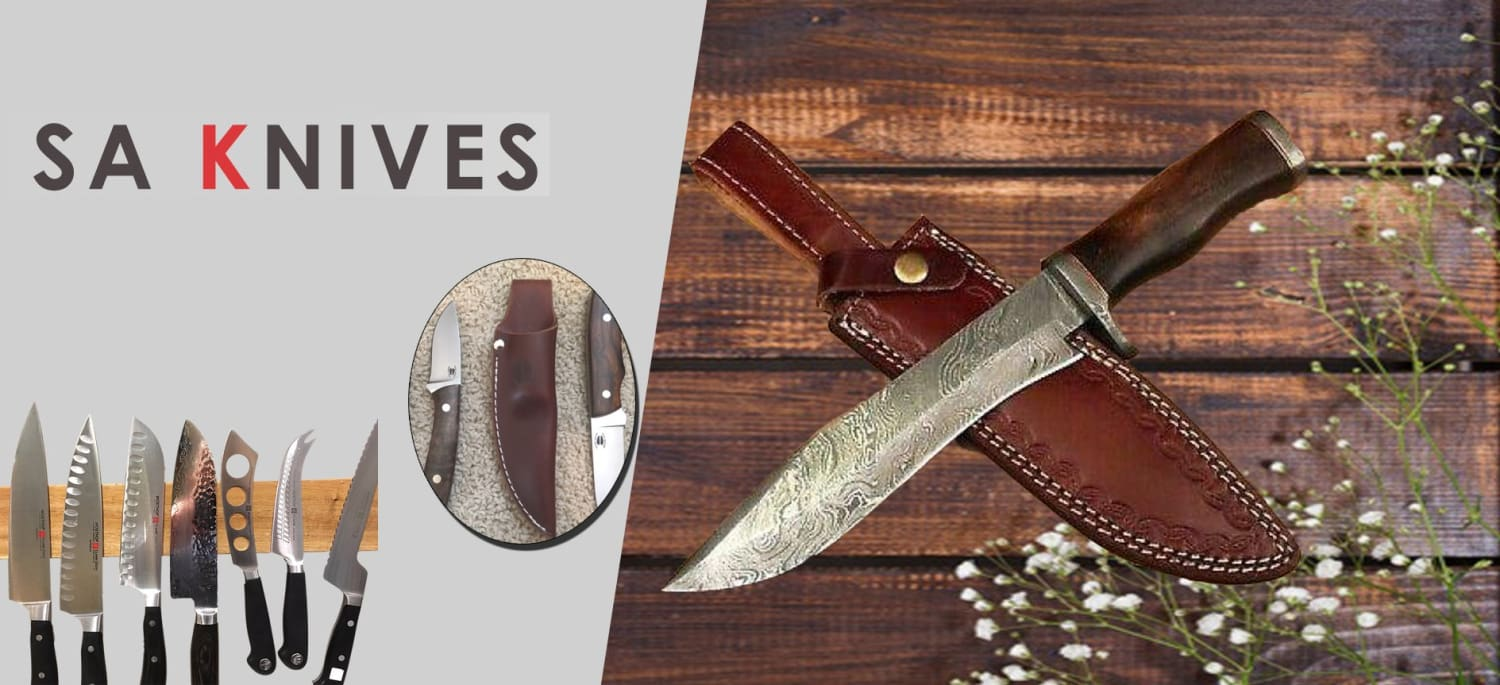 Best Damascus Hunting Knives, Part 2.
