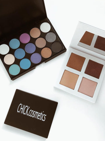 Chick Cosmetics South Africa Makeup Products Flat lay