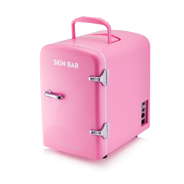 Skin Bar Mini Beauty Fridge - Pink