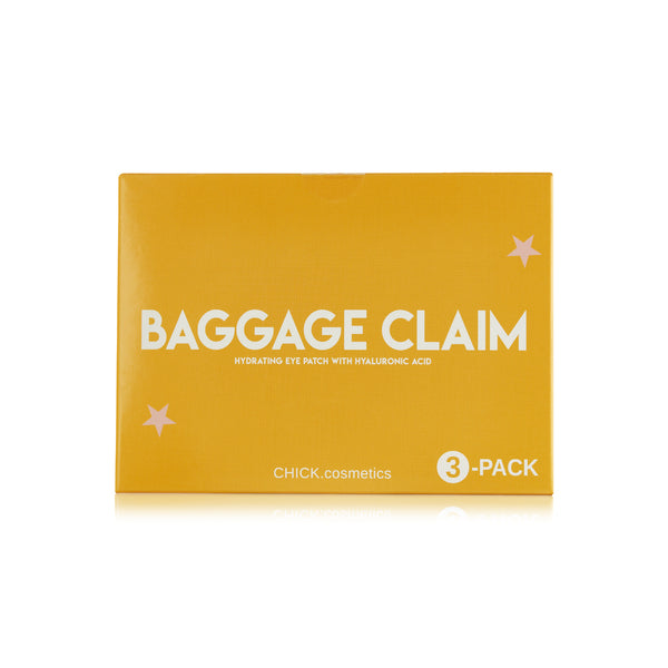 Baggage Claim Hydrating Eye Patch - Hyaluronic Acid + Niacinamide