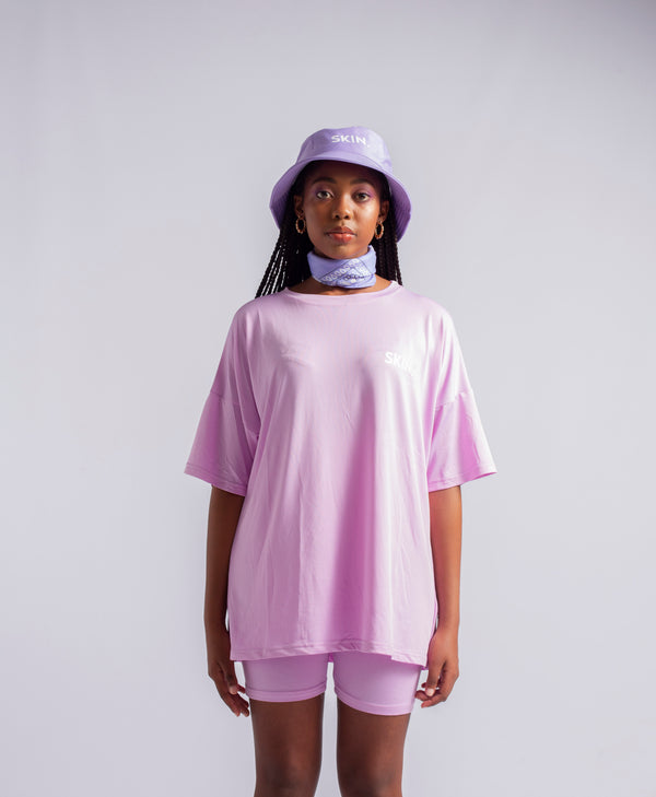 SKIN. oversized shirt - BRIGHT UBE