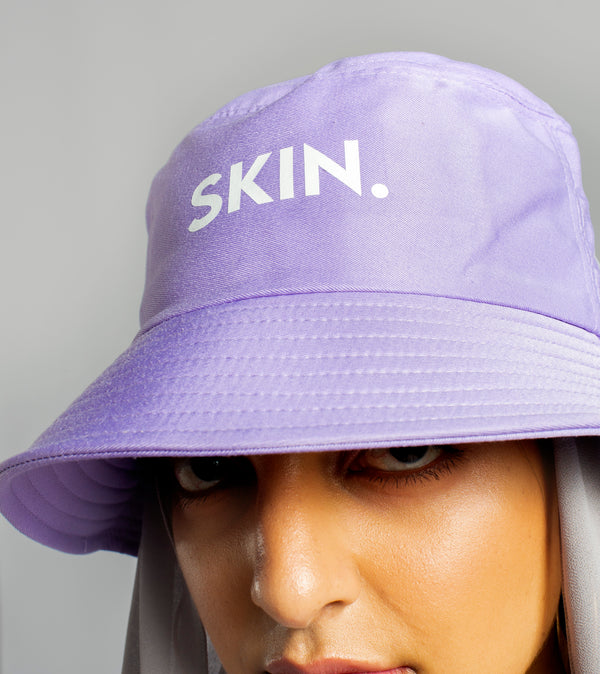 SKIN. bucket hat - BRIGHT UBE