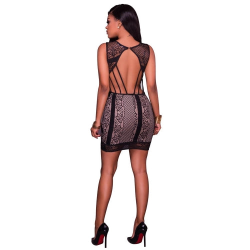 Fionna Laced Backless Mini