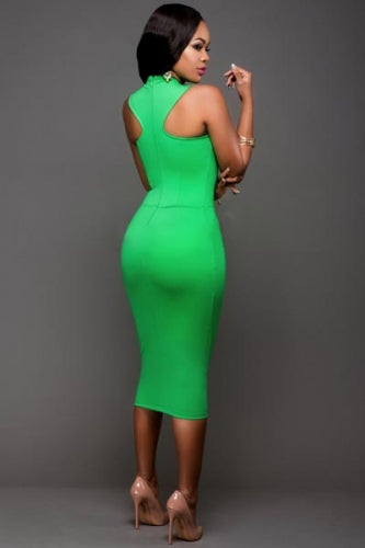Kelly Green Bodycon