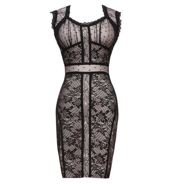 Natalie Sleeveless Lace Bandage