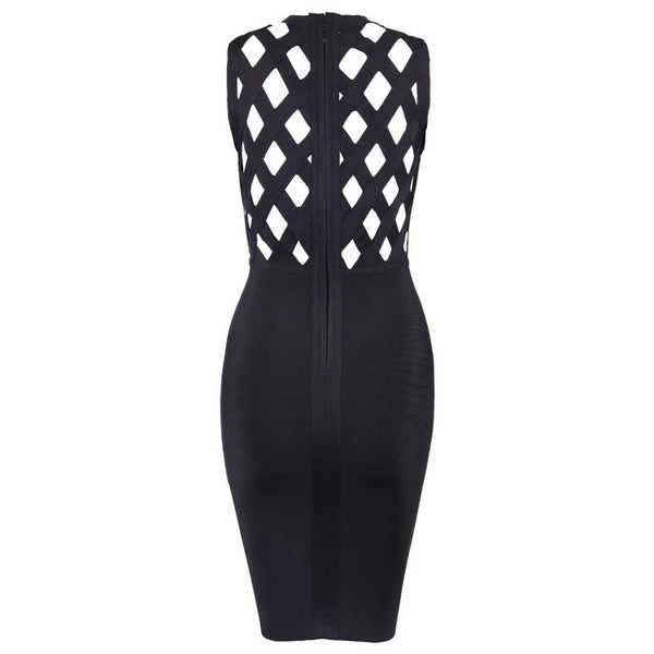 CutOut Studded Sleeveless Bandage