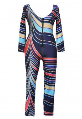 African Print Tribal Jumpsuit