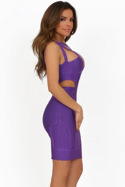 Precilla Purple Cut Out