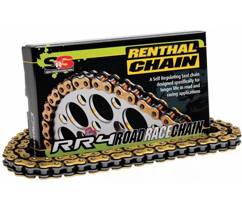 Renthal RR4 SRS Gold 520 race chain