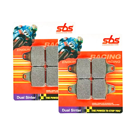 SBS Dual sintered race brake pads