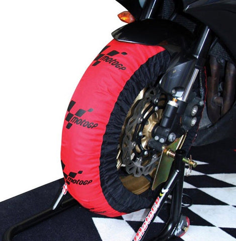 Moto GP race tyre warmers
