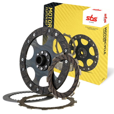 SBS Carbon race clutch friction plates