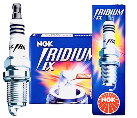 NGK Iridium racing spark plugs x4