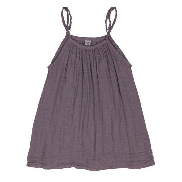Numero 74 Girls Mia Dress Dusty Lilac Mabel's Garb Ethical Clothing Australia