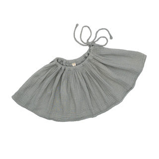 Numero 74 Girls Tutu Skirt in Silver Grey Mabels Garb Australia Ethical handmade double guaze
