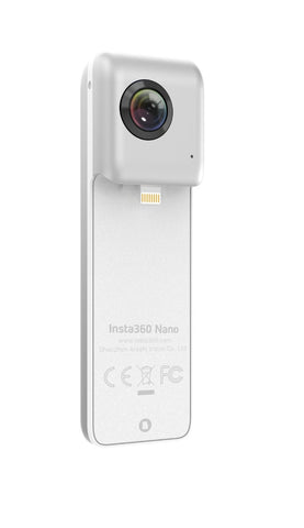 Insta360 Nano 360° Nano VR Camera, Dual Lens for iPhone