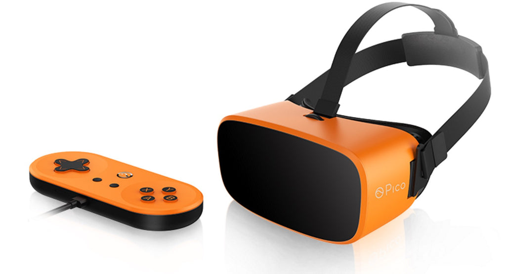 Pico Neo Splited Unibody VR Headset Virtual Reality Display with Qualcomm Snapdragon 820 for Photo & Video & Gaming