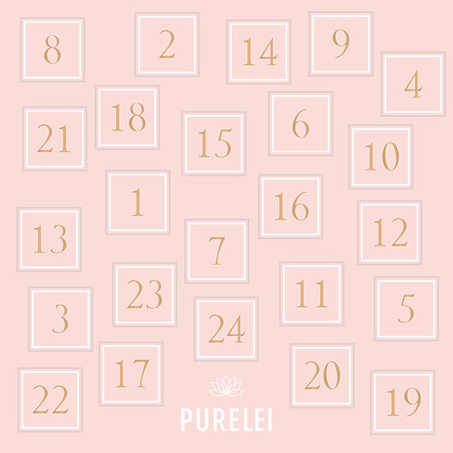 PURELEI ADVENTSKALENDER 2017
