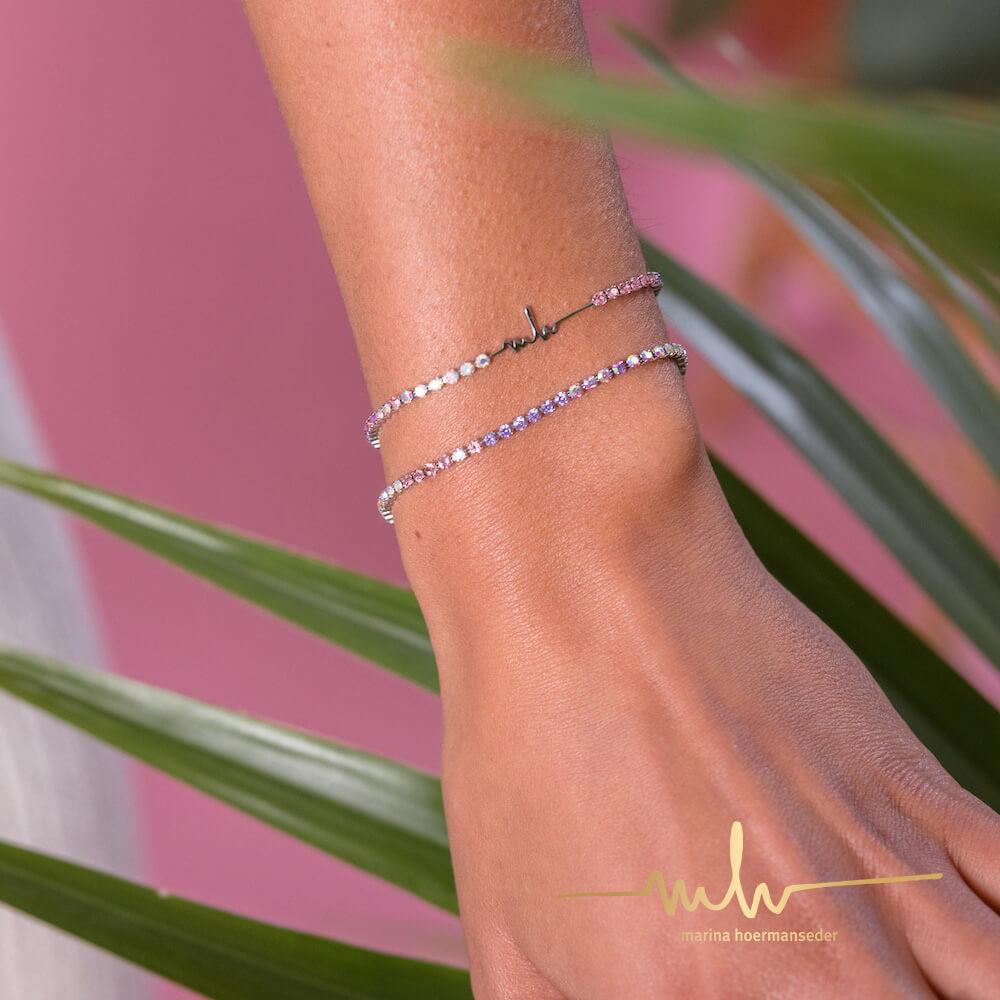 MH Rose Crystal Armband