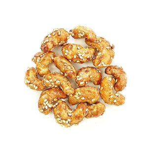 Honey Sesame Cashews - Nuts Pick