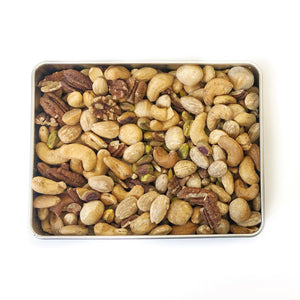 Premium Mixed Nuts Tin (Roasted, Salted)