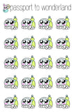 Dishes Kawaii Planner Stickers