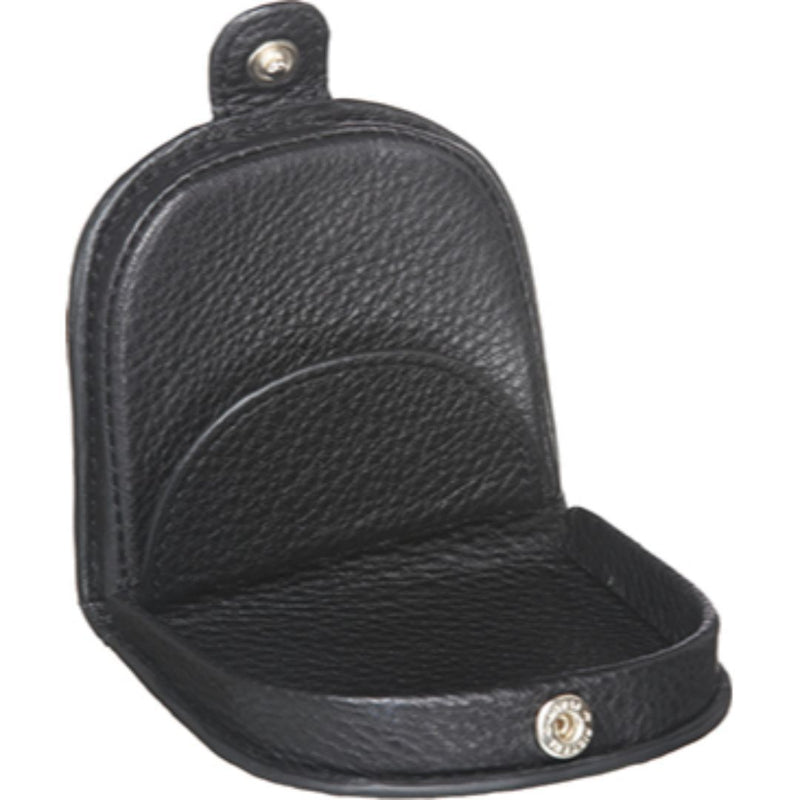 PIERRE CARDIN ITALIAN LEATHER COIN PURSE (PC10315) - BLACK-Coin Pouch-ElegantFemme