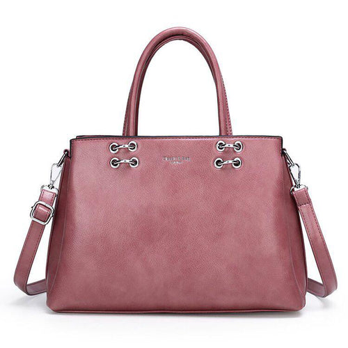 RS Satchel Bag - Pink-Handbag-ElegantFemme