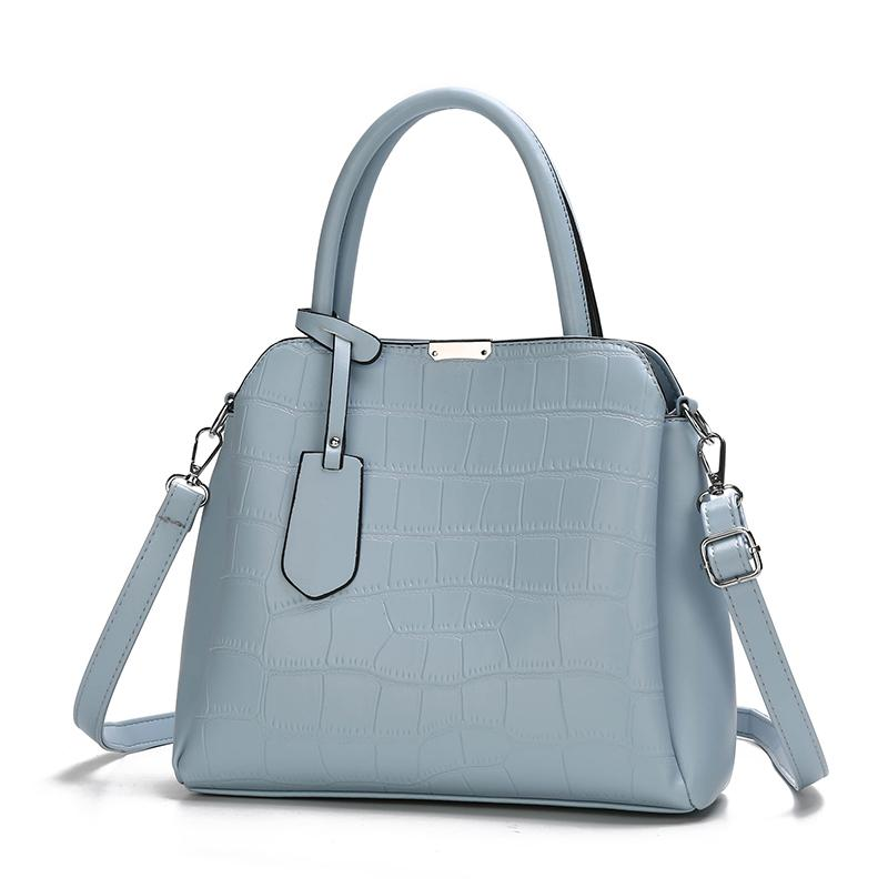 The Dianna 2 Bag Set - Light Blue-Handbag Set-ElegantFemme