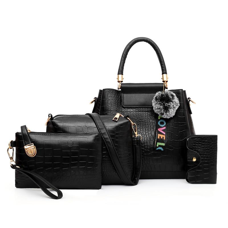 The LOVE 4 Bag Set-Handbag Set-ElegantFemme