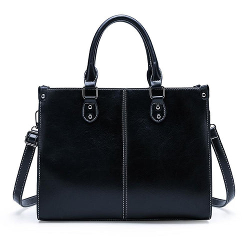 Stylish Satchel Bag-Handbag-ElegantFemme