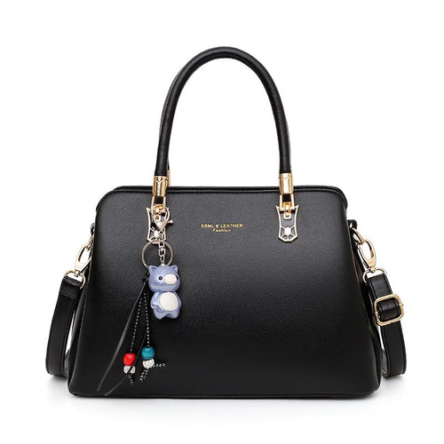 The Alley Bag in Black-Handbag-ElegantFemme
