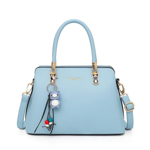 The Alley Bag In Light Blue-Handbag-ElegantFemme
