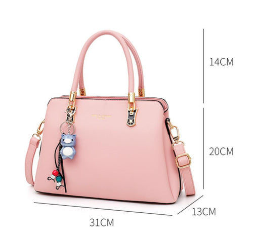 The Alley Bag in Pink-Handbag-ElegantFemme