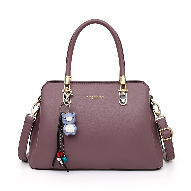 The Alley Bag in Purple-Handbag-ElegantFemme