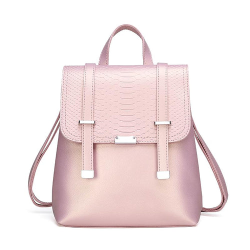 The Bardot Backpack - Pink-Handbag-ElegantFemme