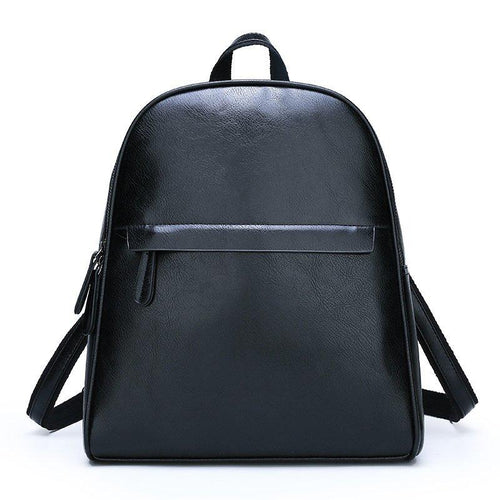 The Karlie Backpack - Black-Handbag-ElegantFemme