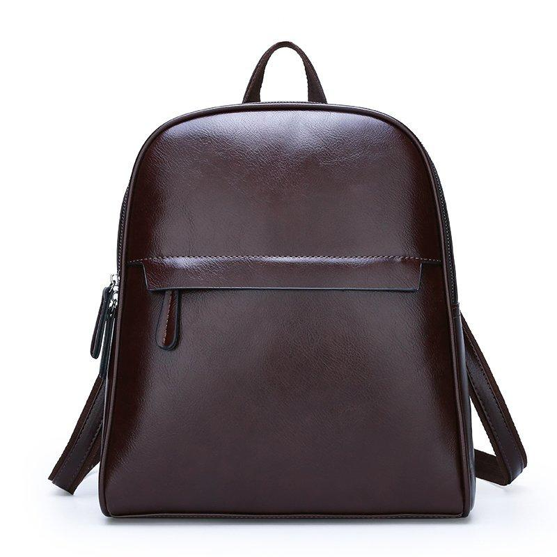 The Karlie Backpack - Brown-Handbag-ElegantFemme