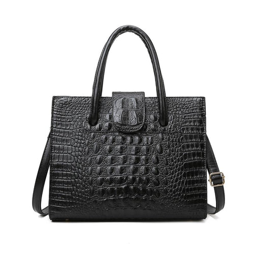 The Linda Bag - Black-Handbag-ElegantFemme